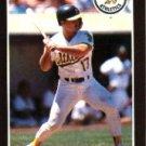 1989 Donruss 568 Glenn Hubbard DP