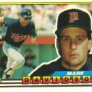 1989 Topps Big 320 Mark Davidson