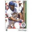 1989 Upper Deck 504 Glenn Braggs