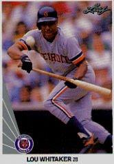 1990 Leaf 34 Lou Whitaker