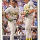 1992 Upper Deck 640 Jose Canseco CL/Rickey Henderson