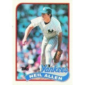 1989 Topps 61 Neil Allen