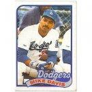 1989 Topps 277 Mike Davis