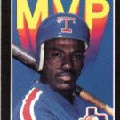 1989 Donruss Bonus MVP's #BC26 Ruben Sierra