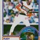 1983 Topps #514 Rudy Law