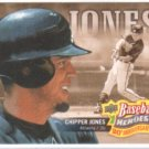 2010 Upper Deck Baseball Heroes 20th Anniversary Art #BHA10 Chipper Jones