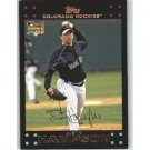 2007 Topps #637 Justin Hampson (RC)