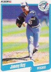 1990 Fleer #85 Jimmy Key