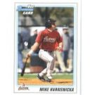 2010 Bowman Chrome Draft Prospects #BDPP90 Mike Kvansnicka