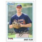 2010 Bowman Draft Prospects #BDPP38 Dave Filak