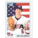 2010 Bowman Draft Prospects #BDPP58 Cole Billingsley