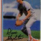 1982 Topps #589 Dave Stapleton