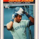 1990 K-Mart #31 Fred McGriff