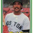 1981 Donruss #338 Jim Rice