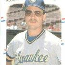 1988 Fleer 165 Jim Gantner