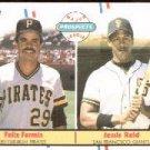 1988 Fleer 643 Felix Fermin/Jesse Reid RC