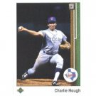 1989 Upper Deck 437 Charlie Hough