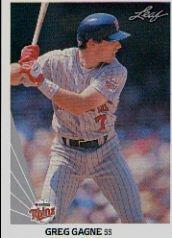 1990 Leaf 302 Greg Gagne