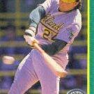 1990 Score 168B Ron Hassey COR/(24 on back)