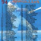1994 Stadium Club #269 Checklist 1-135