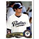 2011 Topps #193 Cory Luebke RC