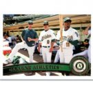2011 Topps #204 Oakland Athletics TC