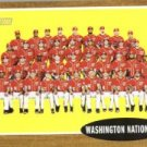 2011 Topps Heritage #206 Washington Nationals