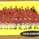 2011 Topps Heritage #251 Texas Rangers