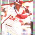 1989 Fleer #584 Milt Thompson UER