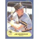 1986 Fleer #614 Jim Morrison