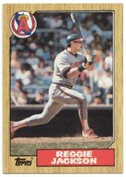 1987 Topps 300 Reggie Jackson