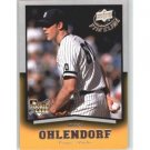 2008 Upper Deck Timeline #71 Ross Ohlendorf RC