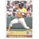 1984 Donruss #101 Dwayne Murphy