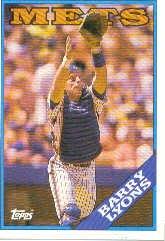1988 Topps 633 Barry Lyons