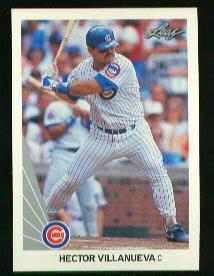 1990 Leaf 401 Hector Villanueva RC