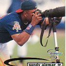 1998 SkyBox Dugout Axcess #62 Sandy Alomar Jr.