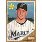 2011 Topps Heritage #119 Scott Cousins RC