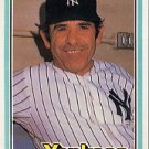 1981 Donruss #351 Yogi Berra CO