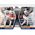 2011 Topps Diamond Duos #HF Jason Heyward