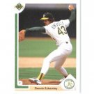 1991 Upper Deck 172 Dennis Eckersley
