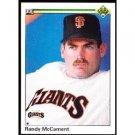 1990 Upper Deck 657 Randy McCament RC