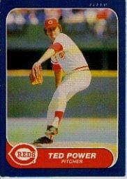 1986 Fleer #187 Ted Power