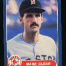 1986 Fleer #344 Mark Clear