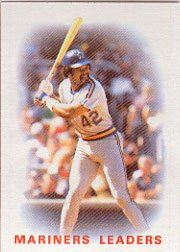 1986 Topps 546 Dave Henderson TL
