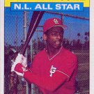 1986 Topps 707 Willie McGee AS