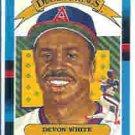 1988 Donruss 8 Devon White DK