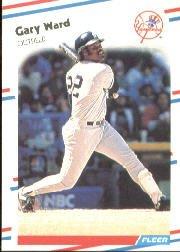 1988 Fleer 224 Gary Ward