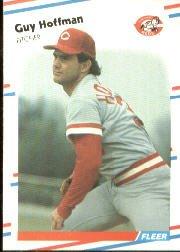 1988 Fleer 235 Guy Hoffman