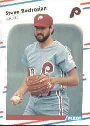 1988 Fleer 298 Steve Bedrosian