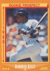 1988 Score 634 Roberto Kelly RC